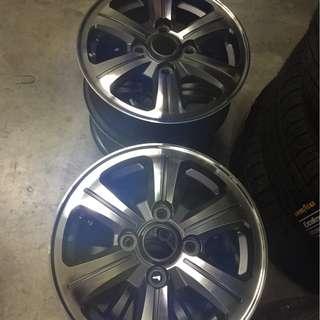 """Proton Iriz 14"""" OEM wheel rim"""