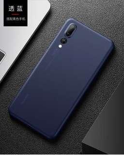 Ultra thin Huawei P20/P20 Pro case - Translucent Navy