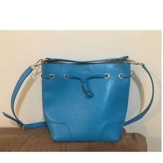 Original Furla - Basket Shoulder Bag w/ Pouch Teal