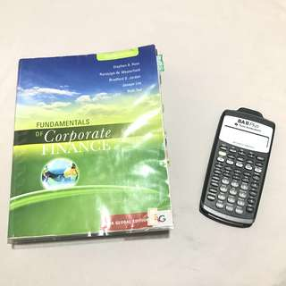 Finance 101 Textbook & Calculator
