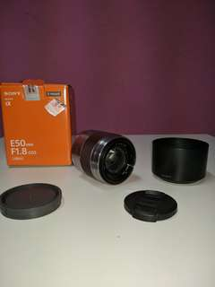SONY E 50mm 1.8oss