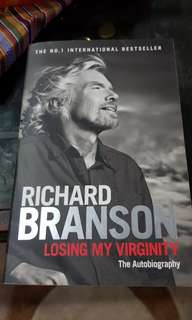 Richard Branson: Losing my virginity (autobiography)