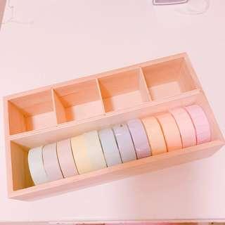 糖果色纸膠带Mt 連盒