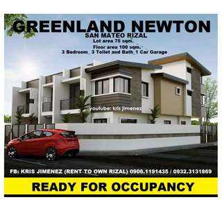 Greenland newton fully finished brand new house. 10% LOW DOWNPAYMENT ONLY! LIMITED UNITS ONLY!.RESERVE NOW