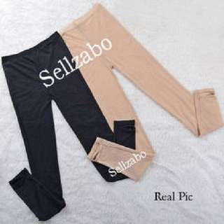 Nude Mesh Type Leggings : Free Size Natural Flesh Colour Anchored Tights To Sole Long Pants Sellzabo Conceal Bare Legs Scars Bruises Beige #L28 (S To M)