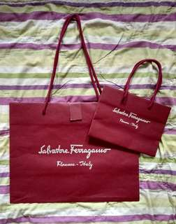 Paper bag Salvatore Ferragamo