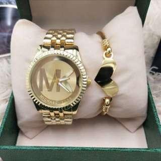 Gold Designer Watch
