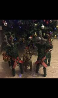 Christmas Reindeer Decorative items