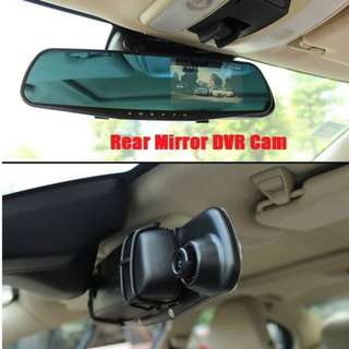 Vehicle Rear View Mirror DVR Camera