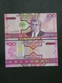 Turkmenistan 100 Manat 🇹🇲 !!!