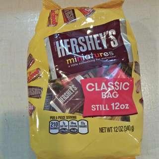Hersheys Miniatures Milk Chocolate