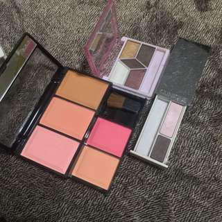 Makeup Bundle, Blush, Brow, Eyeshadow (Clinique, MAC and Shawill)