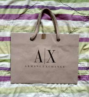 Paper bag Armani Exchange