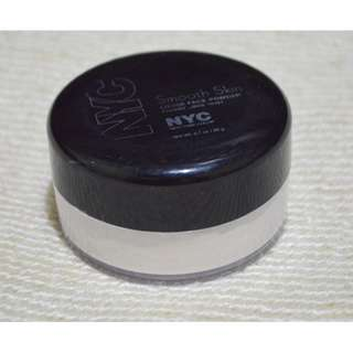 USED 2-3X NYC SMOOTH SKIN LOOSE FACE POWDER