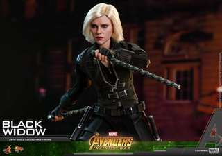 Hot Toys Avengers Infinity War Black Widow 1/6 scale