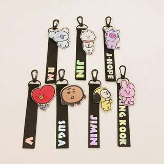 BT21 Strap with Keychain