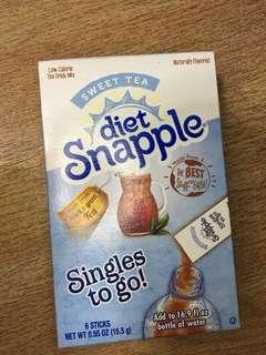 Diet Snapple Sweet Tea Flavor (6 sticks per pack)