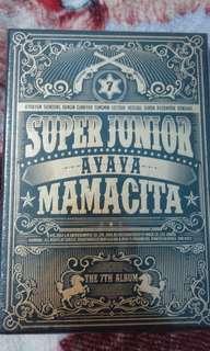 Jual (SEALED ) SUPER JUNIOR 7th ALBUM MAMACITA VER. A