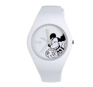 日本 Disney Store 直送 Ice Watch x Disney 米奇 Mickey 手錶 - 白色