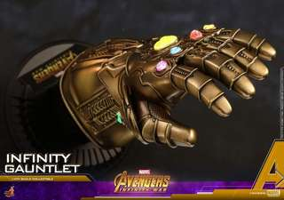 SOLD OUT Hot Toys Avengers Infinity War Infinity Gauntlet 1/4 scale ACS003
