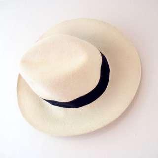 Lacoste Wool Fedora Hat