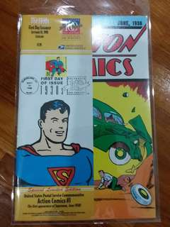 DC - Action Comics #1 (Unted States Postal Service Commemorative)
