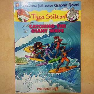 Thea Stilton: Catching the Giant Wave