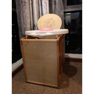 Goodbaby wooden baby chair