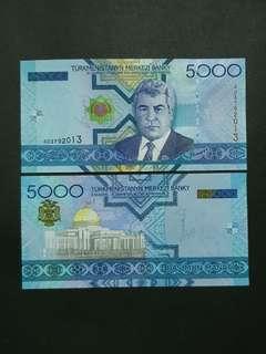 Turkmenistan 5000 Manat 🇹🇲 !!!
