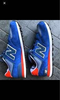 New balance 574 2E width shoes size us9.5