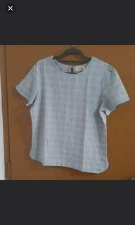 Ladies Trendy Grey Top