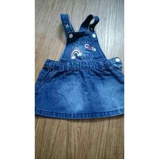 Miki baby skirt overall