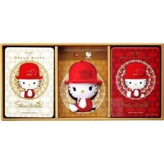 🚚 日本高帽子 KITTY 禮盒(限定款組合)~日本高帽子婚禮喜餅!