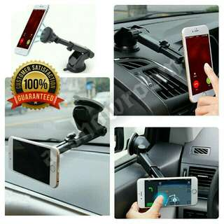 Extendable Magnetic Car Phone Holder Magnetic Bracket Mount Stand For Dashboard/Windshield Suitable For iPhone Samsung LG Huawei Etc