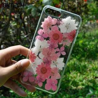 Pressed flower (real) casing
