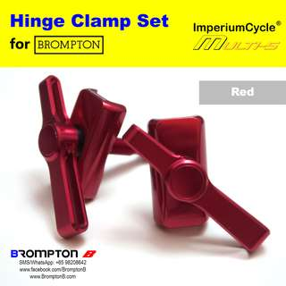 ImperiumCycle Hinge Clamp Set (for Bromptons)