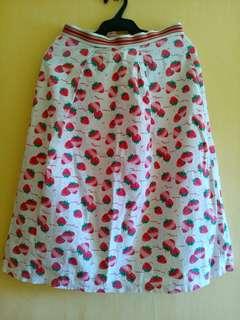 REPRICED!🍓 Strawberry Skirt