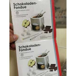 Mini chocolate fondue