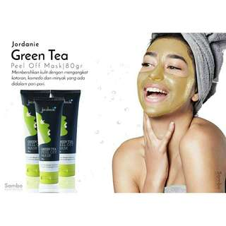 Jordanie Green Tea Peel Off Mask