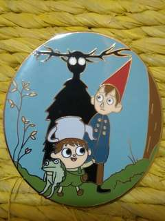 #horegajian over the garden wall enamel pin