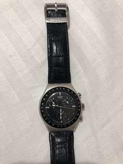 Swatch Irony chronograph, all aluminium steel swatch watch.