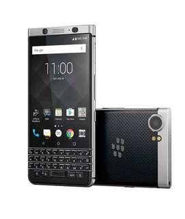 Blackberry Key One 4/64GB Black Resmi Bisa Cicilan
