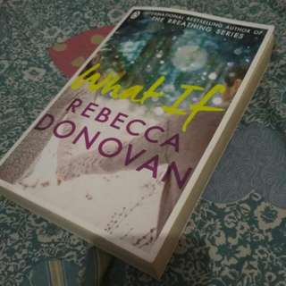 Novel Inggris What If by rebecca donovan