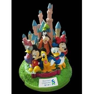 迪士尼城堡造型錢箱