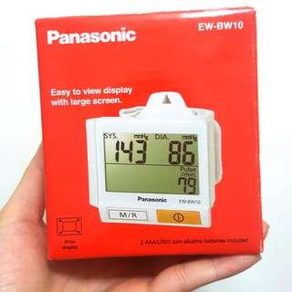 行貨(無單) Panasonic 樂聲 手腕式 電子血壓計