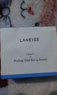 Laneige clear c peeling trial kit (4 items)