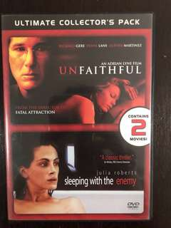 Unfaithful; Sleeping with the Enemy - 2 Movie DVD