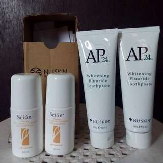whitening ap24 / scion