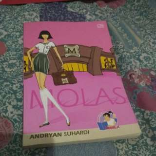 novel molas by andryan suhardi #horegajian