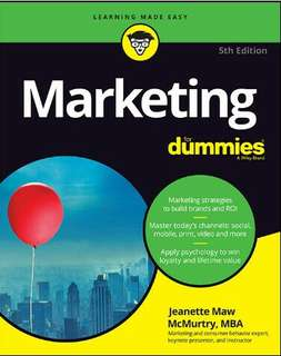 Marketing For Dummies, 5th Edition Ebook